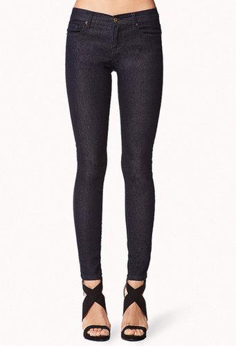 FOREVER 21 Classic Slim Denim Jeans