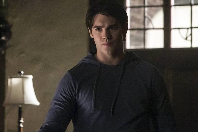 "Steven R. McQueen on ""I Know What You Did Last Summer,"" the season five premiere of The Vampire Diaries, airing Oct. 3 on The CW."