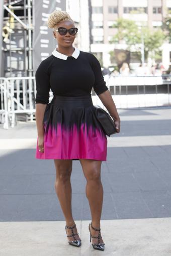 Fashionably Fabulous New York Fashion Week Ss 2014 Street Style
