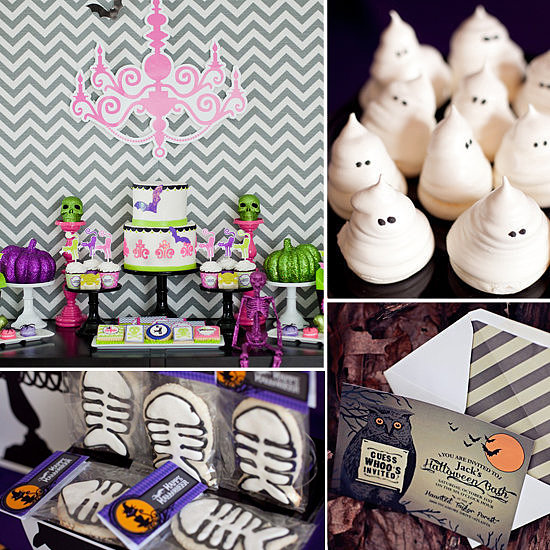 "Hey party peeps! Today I'm sharing bright and colorful Kid-Friendly Spookadelic Halloween Party Ideas using the new ""Spookadelic"" Halloween party line from Oriental Trading. It has become one of my favorites as it's spooky and bright and whimsical all in one."