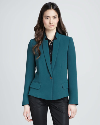 MARC by Marc Jacobs Sparks Inverted-Collar Jacket