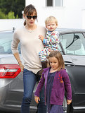 Jennifer Garner Goes Out With Two Very Adorable Breakfast Dates