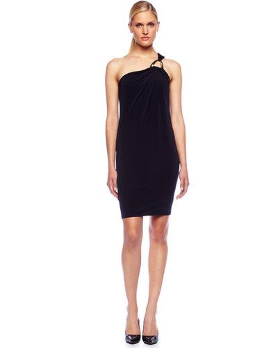 Michael Kors One-Shoulder Jersey Dress