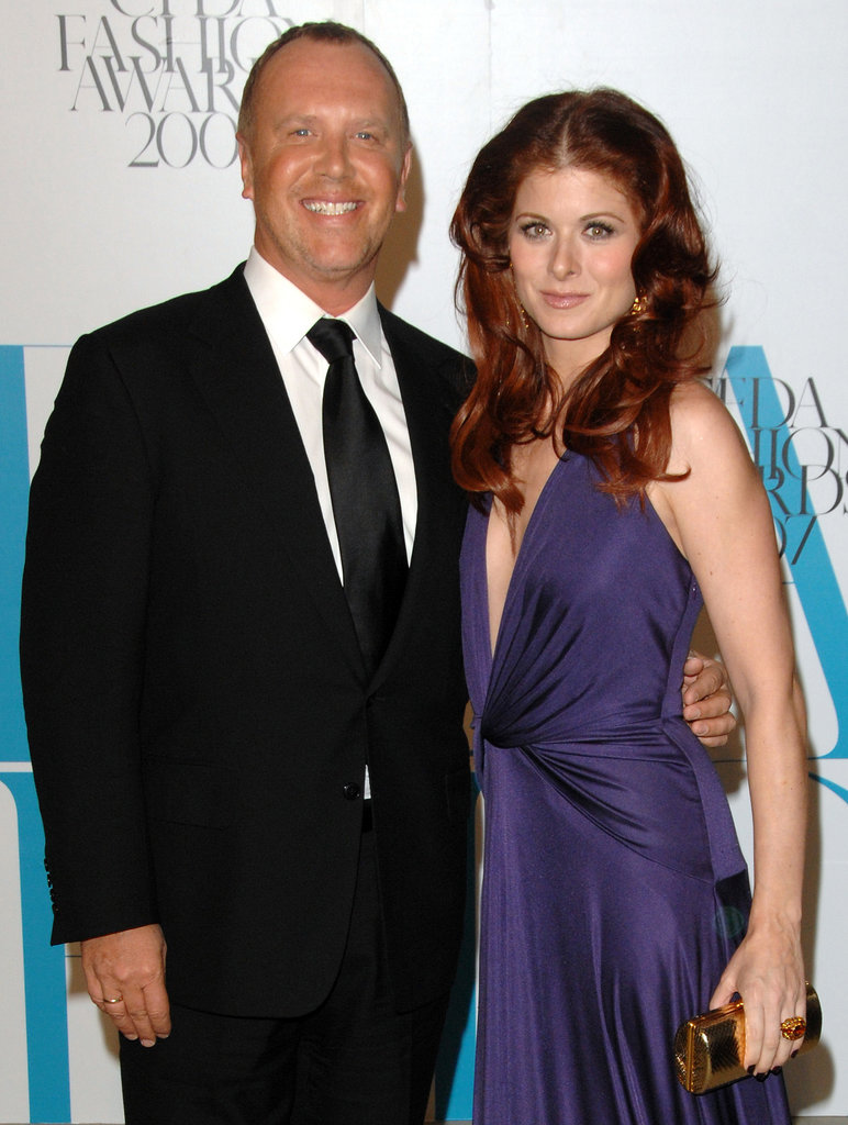 Michael Kors and Debra Messing