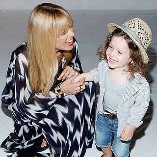 Rachel Zoe and Skyler at New York Fashion Week 2013
