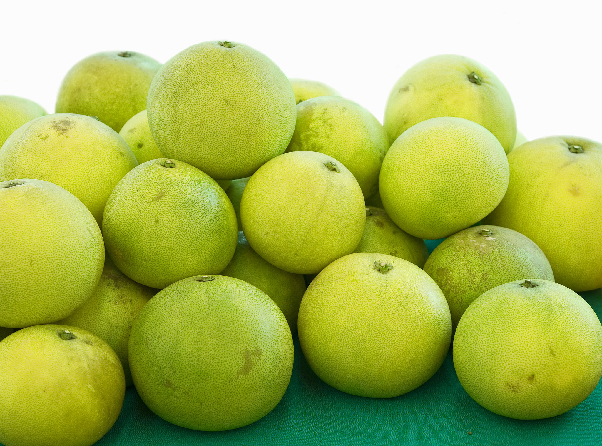 Pomelos, grapefruits' larger cousins, are available from November ...: popsugar.com/food/photo-gallery/31673990/image/31674174/pomelos