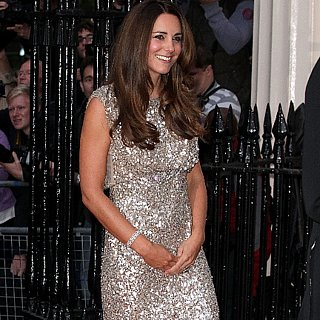 Kate Middleton in Jenny Packham at Tusk Awards Dinner