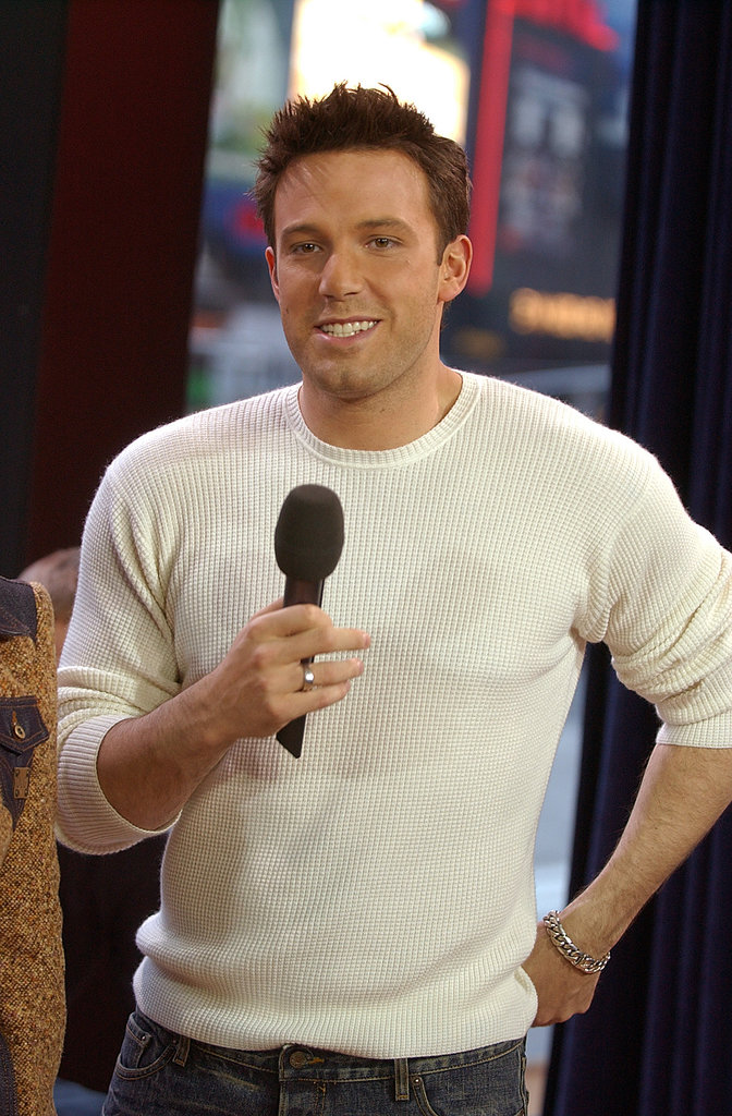 Ben Affleck promoted Daredevil on TRL in 2003.