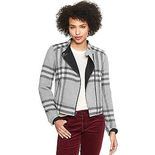 Gap Plaid Moto Jacket | Review
