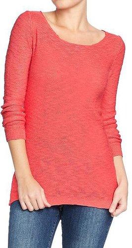 Women's Marled 3/4-Sleeve Sweaters