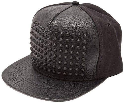 Stampd studded snapback hat