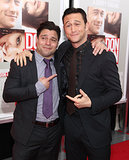 Joseph Gordon-Levitt joked around with Jeremy Luc.