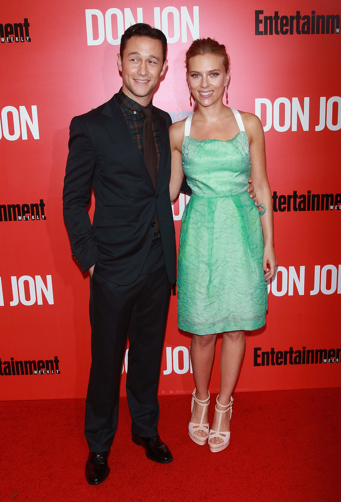 Scarlett Johansson and Joseph Gordon-Levitt worked the red carpet together.