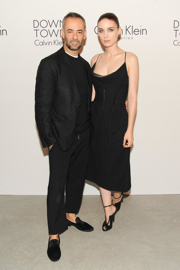 Francisco Costa launched Downtown with Rooney Mara by his side at the Calvin Klein party.