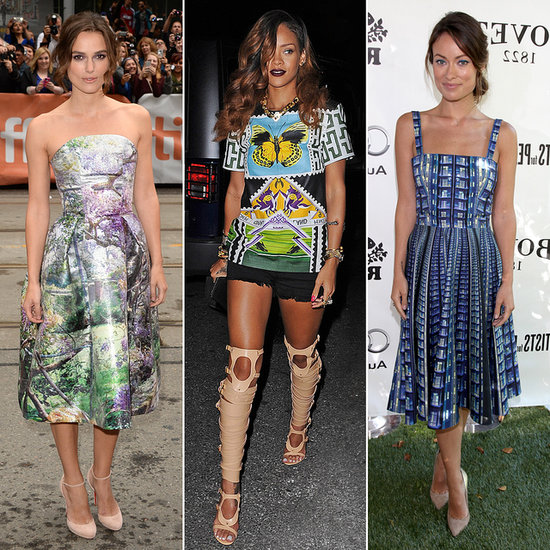 Hail Mary! Celebs Who Are Crazy For Katrantzou