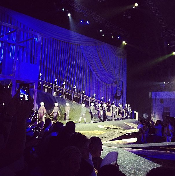 The Marc Jacobs show was the perfectly dramatic way to end Fashion Week.