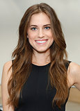 Allison Williams at Reed Krakoff Spring 2014.