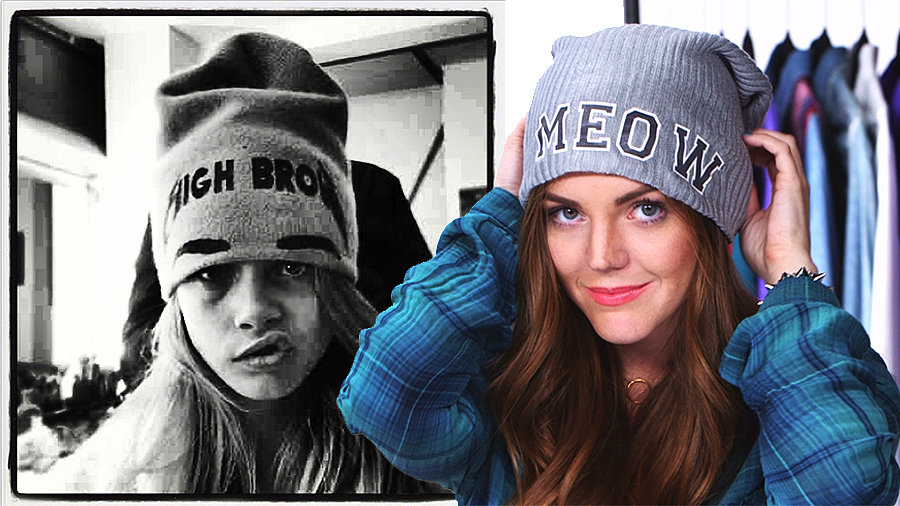 DIY: Make a Cool Beanie Inspired by Cara Delevingne