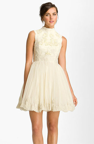 Ted Baker London 'Telago' Embroidered Tulle Frock (Online Only)
