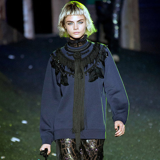 There was no more dramatic way to end New York Fashion Week than with Marc Jacobs's Spring show.