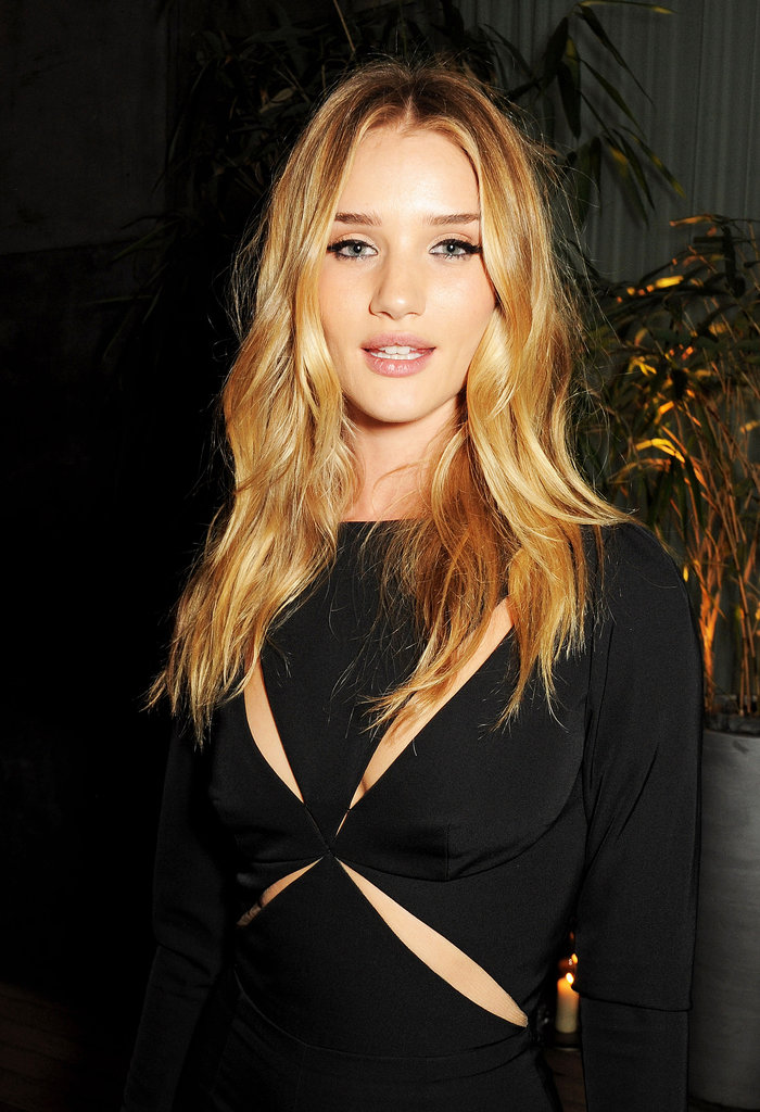 Rosie Huntington-Whiteley at the Elle magazine event.