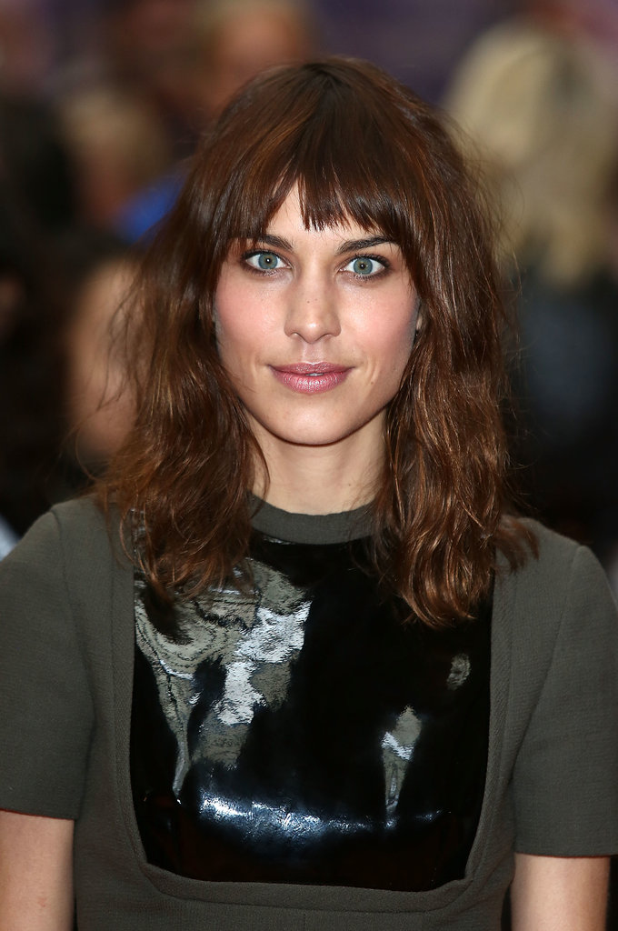Alexa Chung at House of Holland.