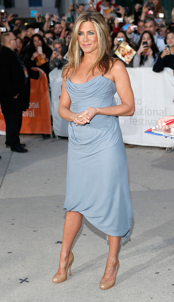 Jennifer Aniston and Justin Theroux Couple Up in Canada