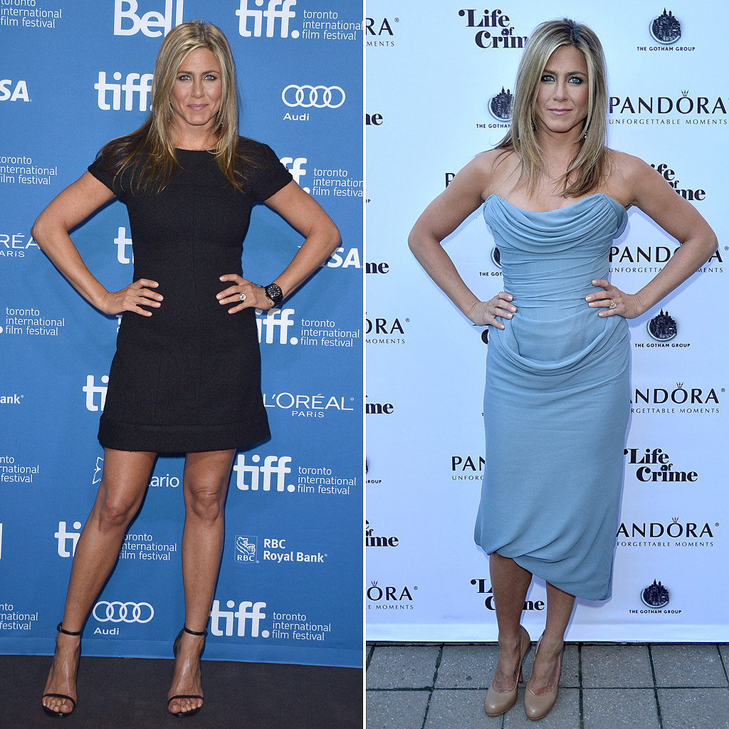Jennifer Aniston Delivers Double the Style at the Toronto Film Festival