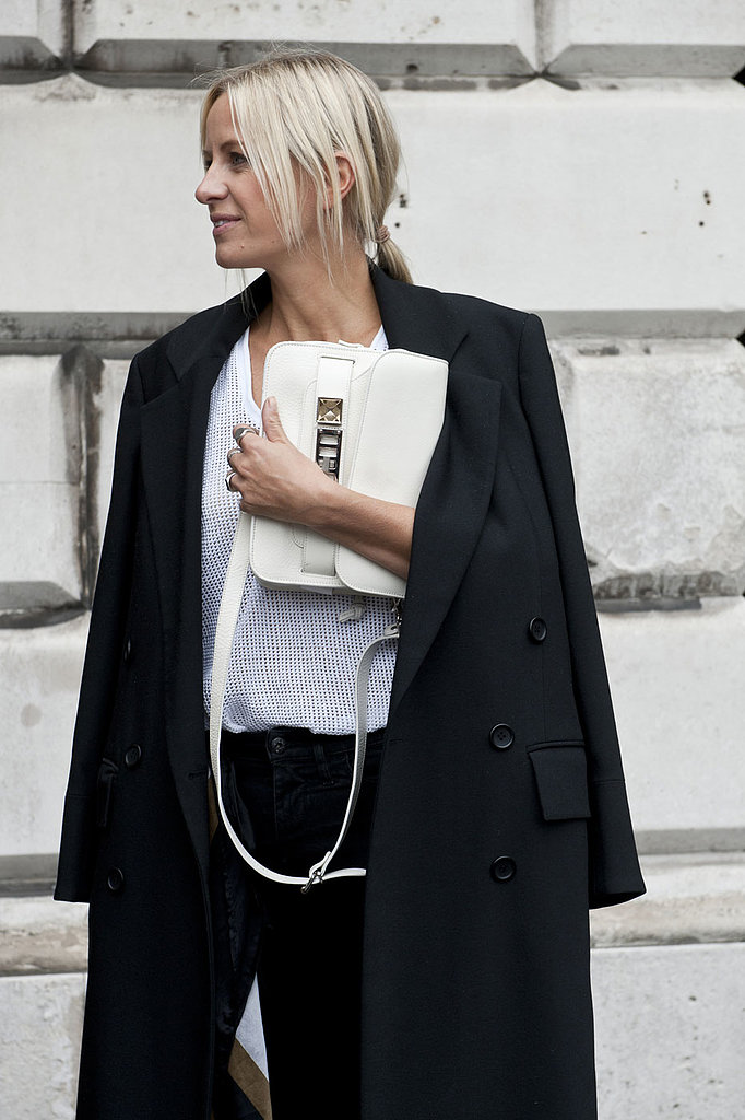 White accessories are popping up everywhere.