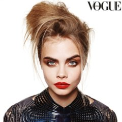 Cara Delevingne on Cover of Vogue Australia October Issue
