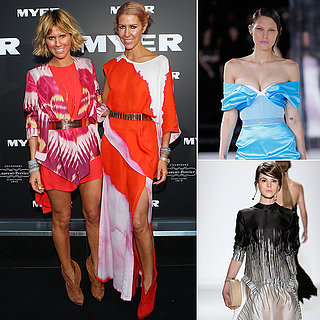 Australia Designers and Models at New York Fashion Week