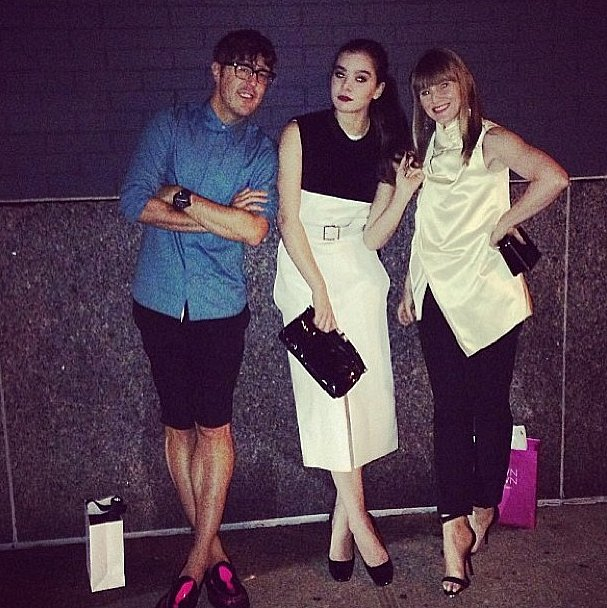 Hailee Steinfeld joined the Teen Vogue crew for a chic night of partygoing. Source: Instagram user haileesteinfeld