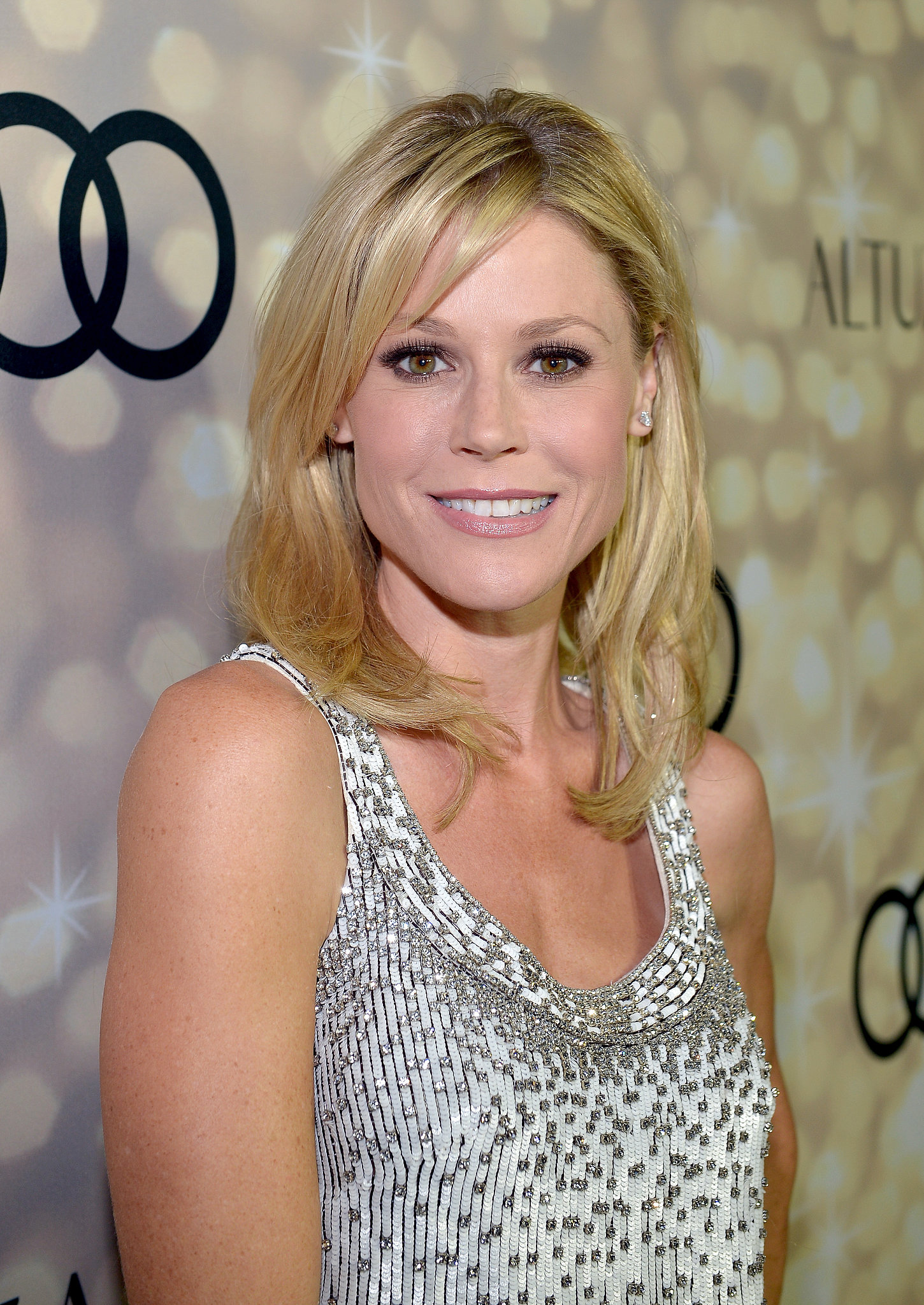 We loved Julie Bowen's signature blond waves a