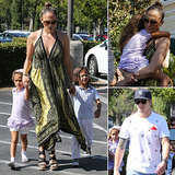 Jennifer Lopez Keeps Her Twins and Casper Close