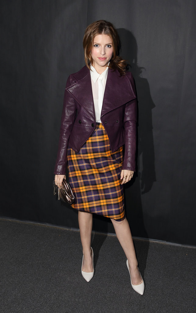 Anna Kendrick shows there's no better way to turn up to Vivienne Westwood than in tartan.