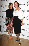At her London Mademoiselle C screening, Carine Roitfeld joined Andrea Dellal to fete the event.