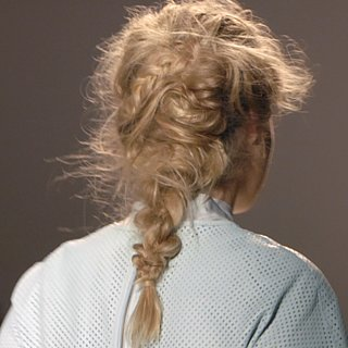 Backstage Beauty & Braids at Rachel Zoe 2014 NYFW
