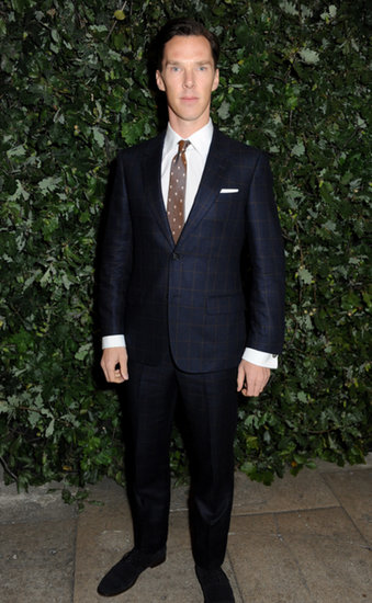 Benedict Cumberbatch suited up for the London event.