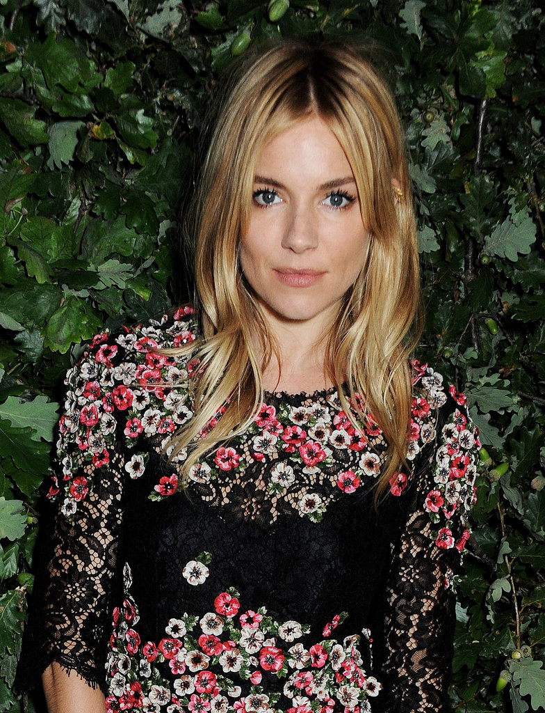 Sienna Miller stepped out for an event that focused on The Global Fund.