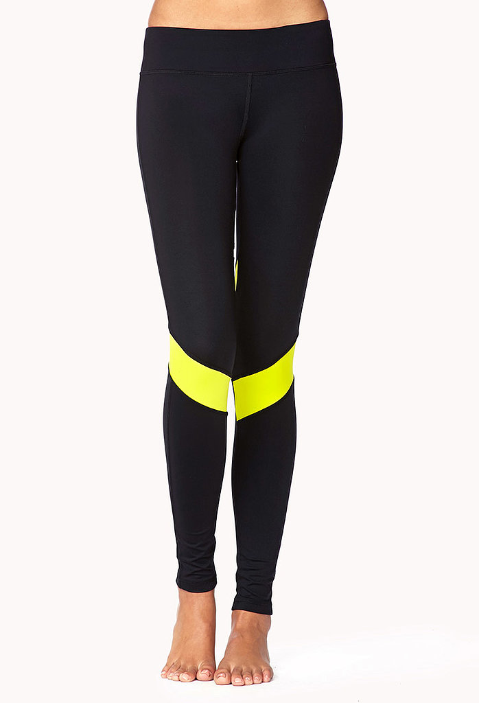 Forever 21 Colorblocked Leggings