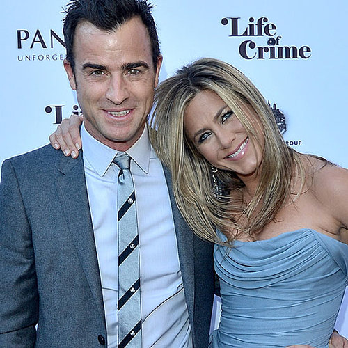 Jennifer Aniston and Justin Theroux PDA in Toronto