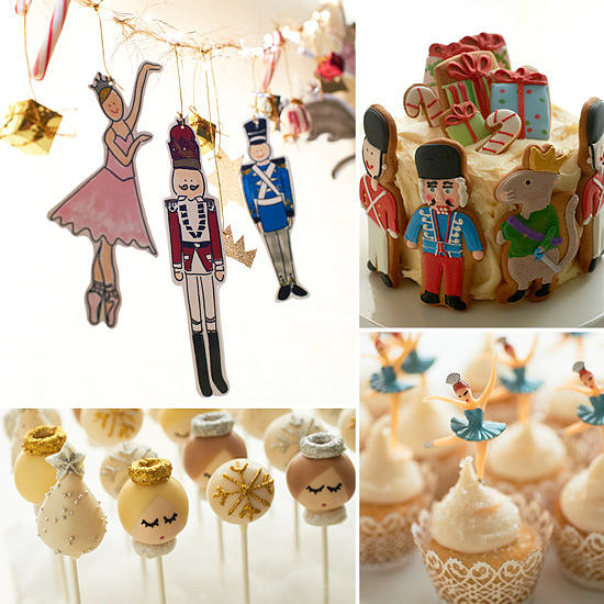 A Nutcracker-Inspired Party For Little Ballerinas