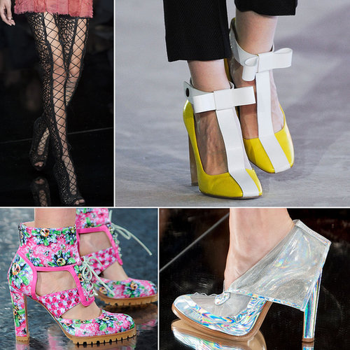 Best Shoes at London Fashion Week Spring 2014