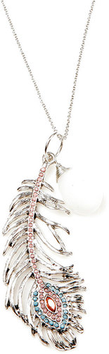 Drew Tessier Feather Necklace