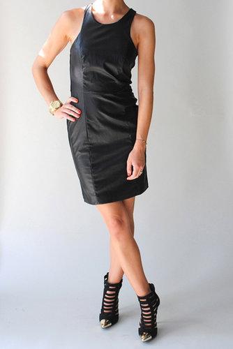 Lady Dutch Faux Leather Dress