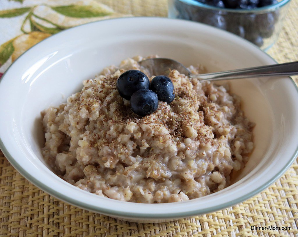 Steel-Cut Crock-Pot Oatmeal