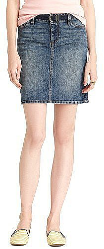 You'll quickly find that this Tommy Hilfiger denim skirt ($40) goes with everything.