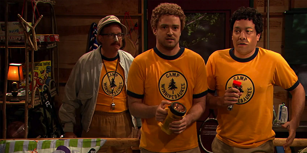 Watch Justin Timberlake Be the Hootie to Jimmy Fallon's Blowfish