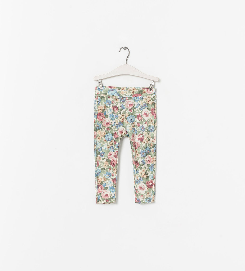 Zara Kids' pint-size printed leggings ($17) are oh-so on-trend.