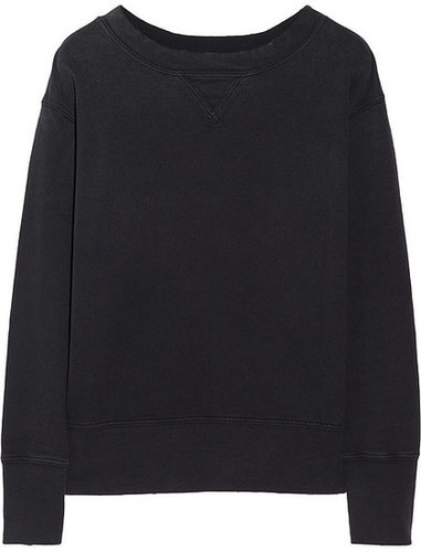 Current/Elliott The Stadium cotton-terry sweatshirt